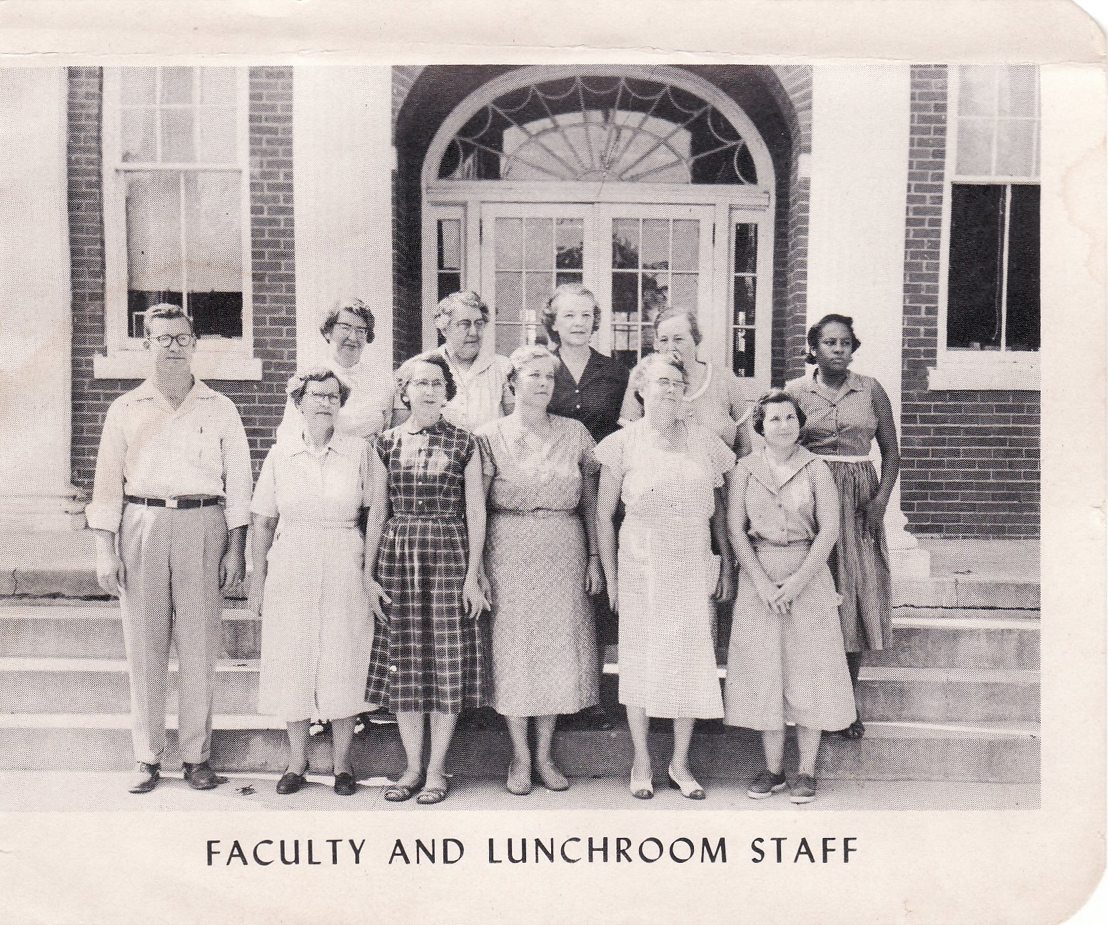 1950's FHS Staff