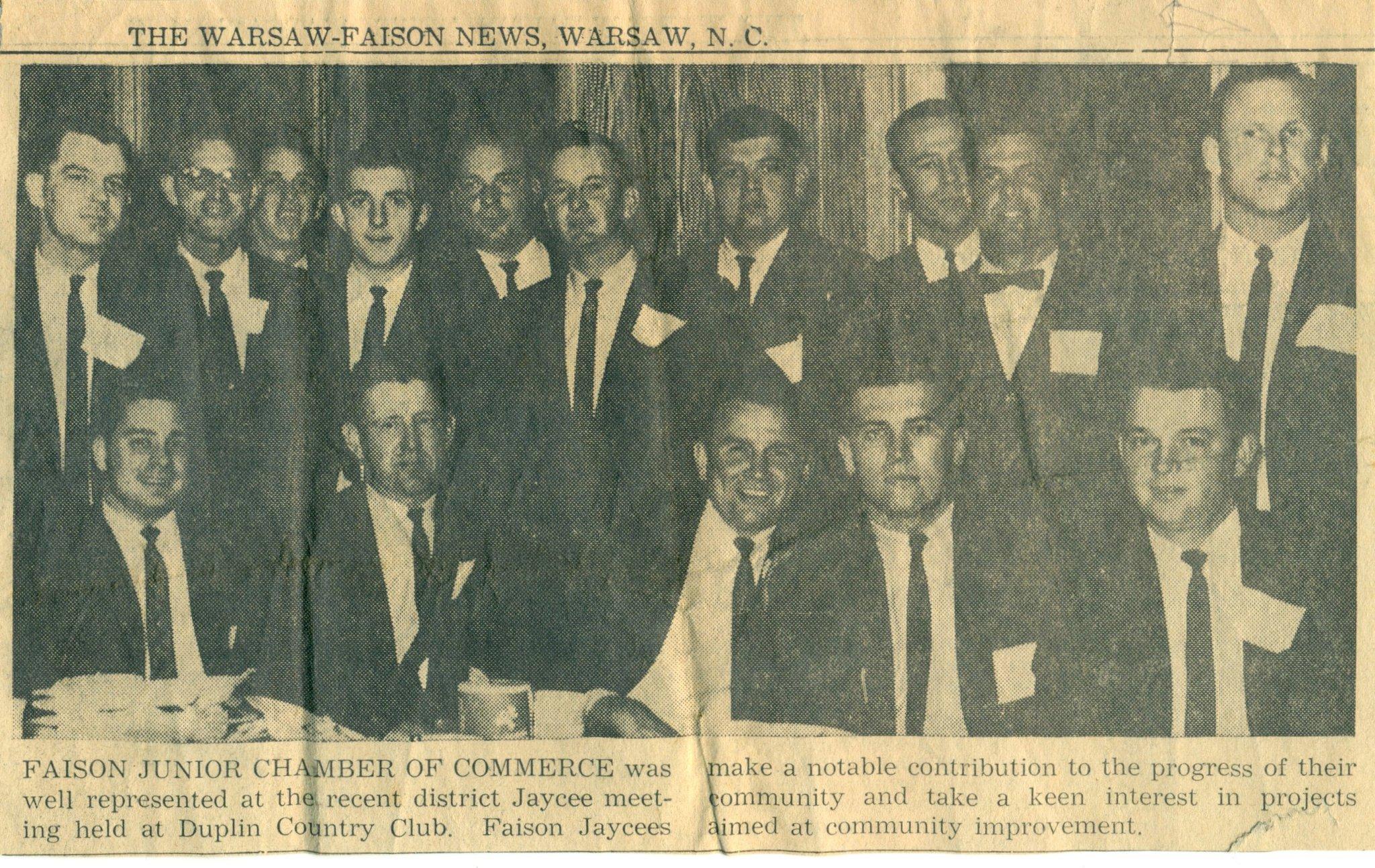 1960's Faison JC's