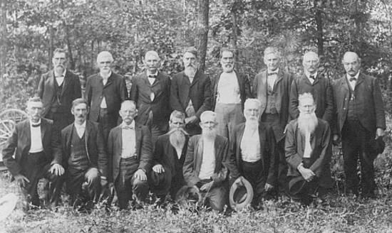 Civil War Veterans - 1904