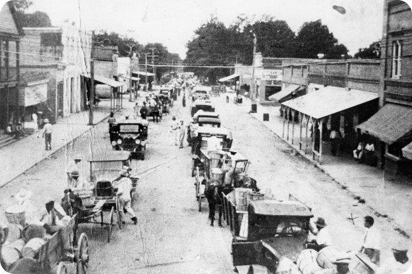 Main_Street_Faison_1920s