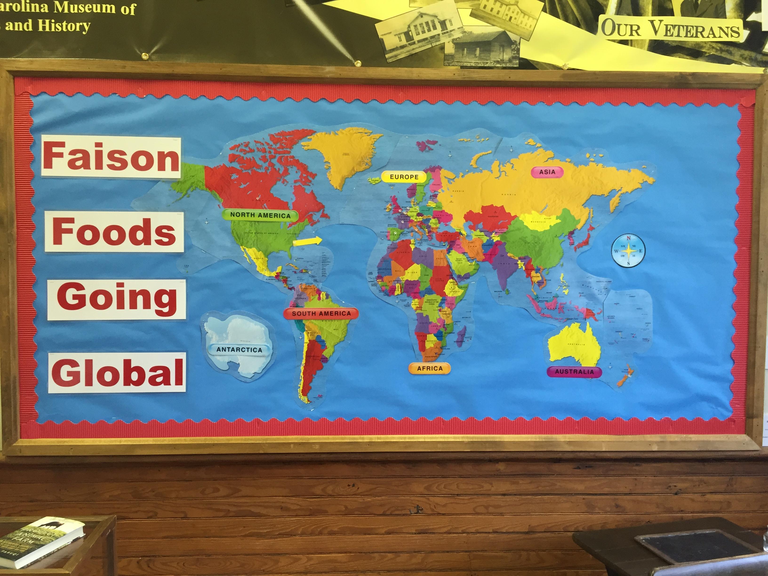 Faison Goes Global