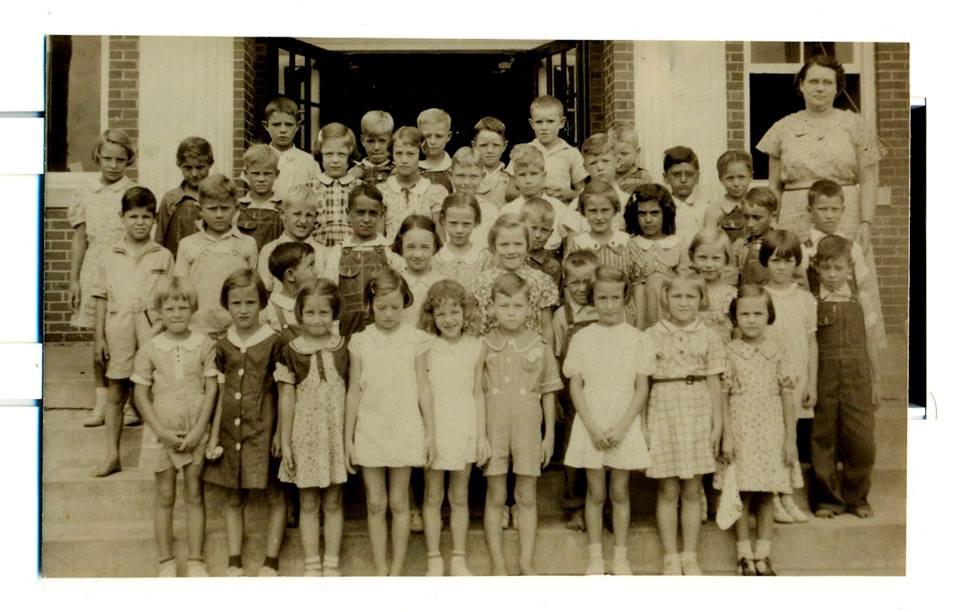 Faison School 1938 - see list of names