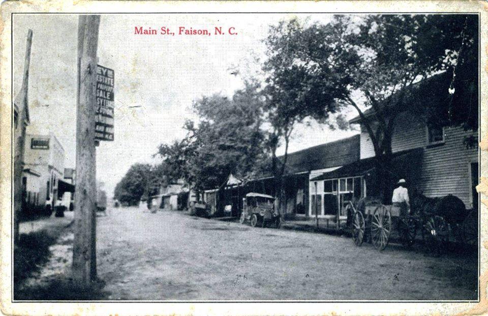 Faison_Main_Street_1915