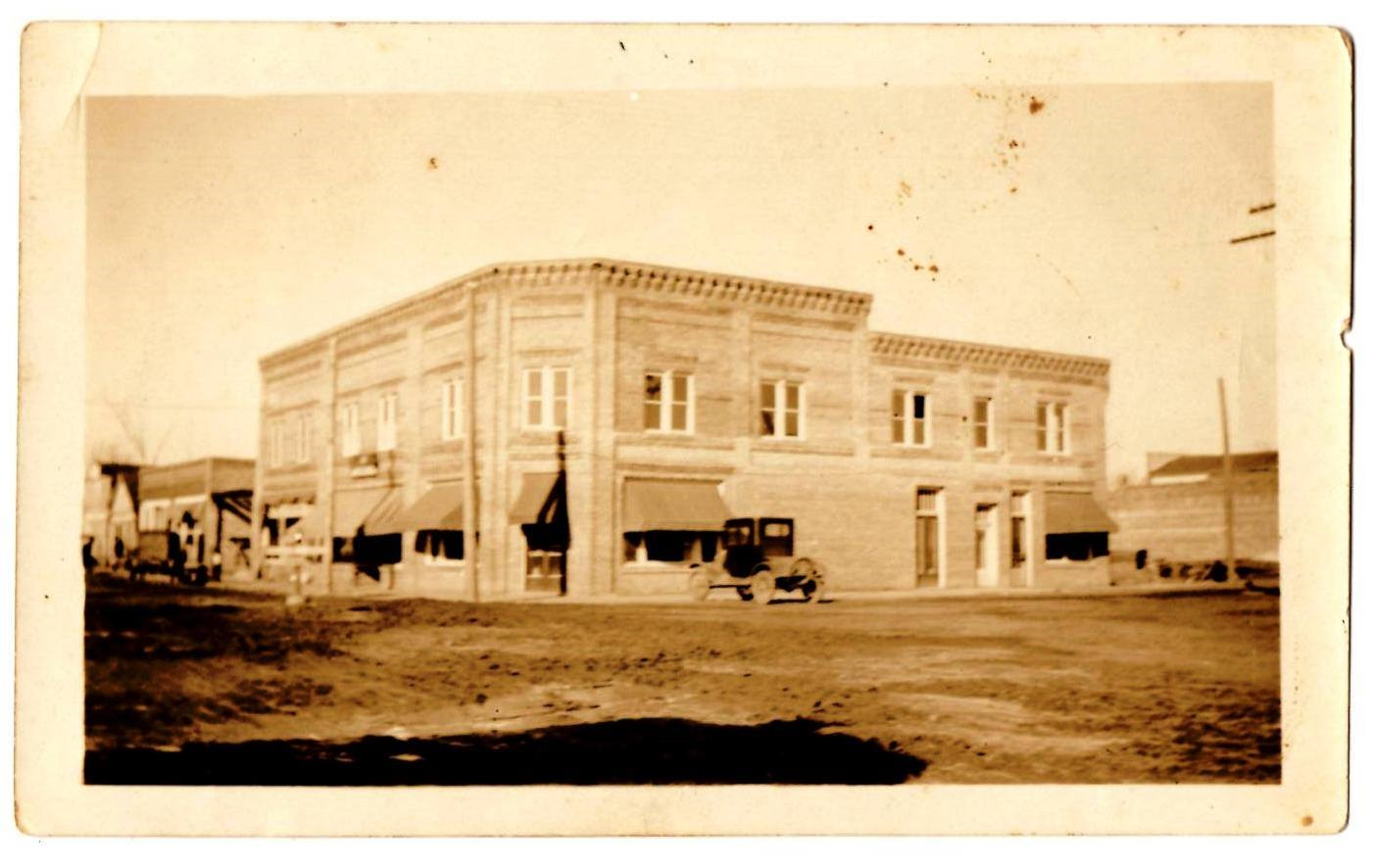 Witherington Building in early 1900s