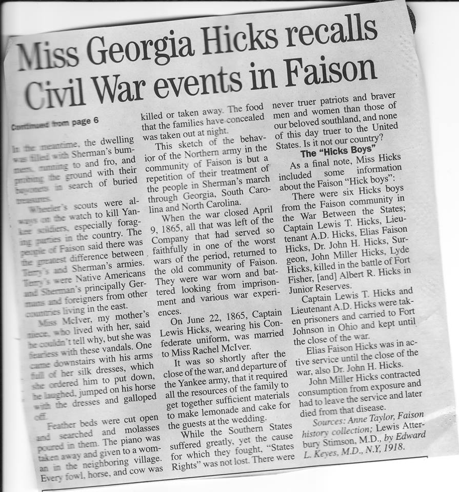 Georgia Hicks part 2