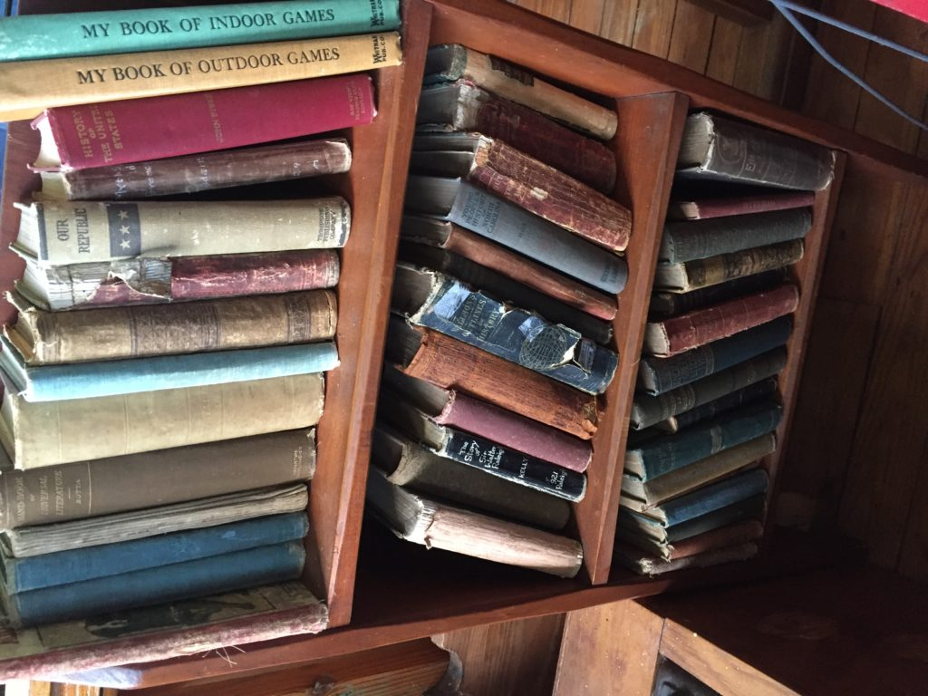 Old School Books 1800 s FaisonDepot